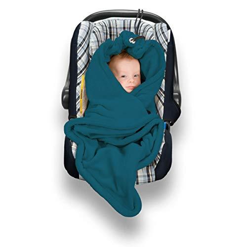 Fleece-Decke für Babyschalen