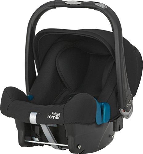 Britax Römer Babyschale BABY-SAFE PLUS SHR II, Gruppe 0+ (Geburt - 13 kg), Kollektion 2017, Cosmos Black