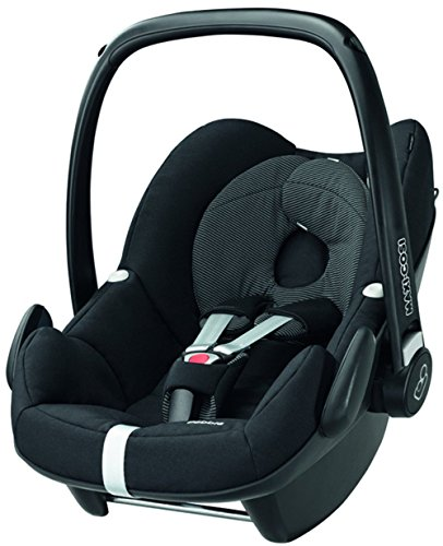 maxi cosi pebble babyschale gruppe 0 0 13 kg schwarz ohne isofix station auto. Black Bedroom Furniture Sets. Home Design Ideas