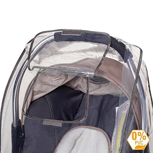 DIAGO 30001.75081 Komfort Regenschutz Babyschale - 3