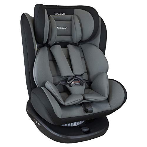XOMAX 916 Kindersitz drehbar 360° mit ISOFIX und Liegefunktion