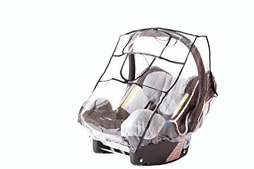 Sunnybaby 20022 Regenverdeck Comfort Plus mit sturmfester Schutzklappe für Babyschale - 2