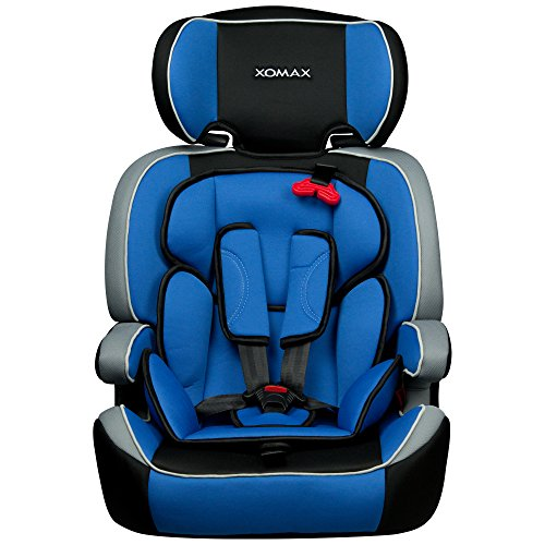 xomax xm k4 blue kindersitz 9 36 kg gruppe i ii iii ece r44 04 gepr ft farbe blau. Black Bedroom Furniture Sets. Home Design Ideas