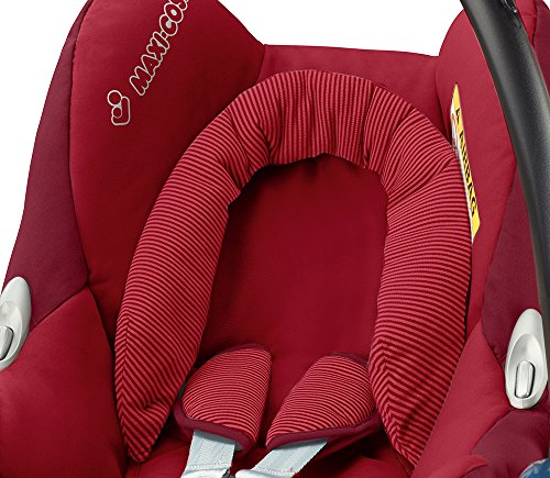 Maxi-Cosi Cabriofix, Babyschale Gruppe 0+ (0-13 kg), robin red, ohne Isofix-Station - 3