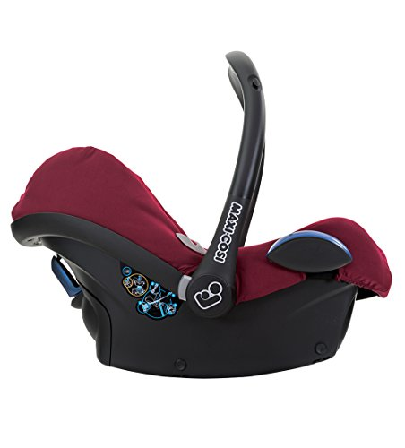 Maxi-Cosi Cabriofix, Babyschale Gruppe 0+ (0-13 kg), robin red, ohne Isofix-Station - 4