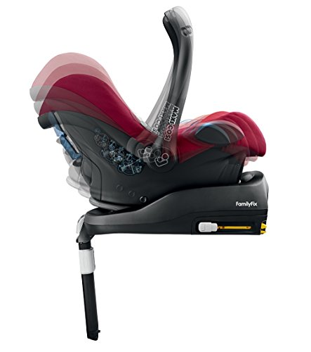 Maxi-Cosi Cabriofix, Babyschale Gruppe 0+ (0-13 kg), robin red, ohne Isofix-Station - 6