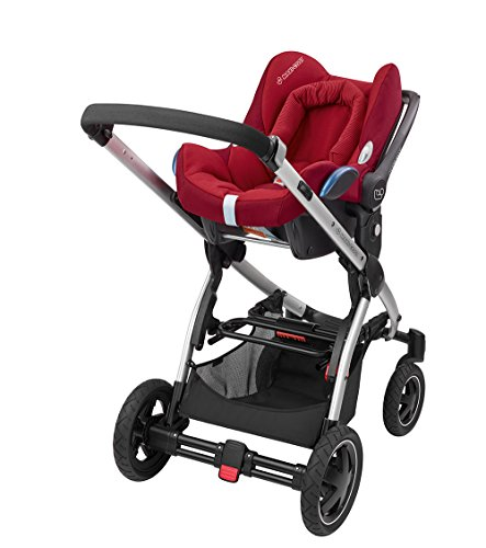 Maxi-Cosi Cabriofix, Babyschale Gruppe 0+ (0-13 kg), robin red, ohne Isofix-Station - 8