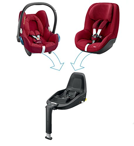 Maxi-Cosi Cabriofix, Babyschale Gruppe 0+ (0-13 kg), robin red, ohne Isofix-Station - 9