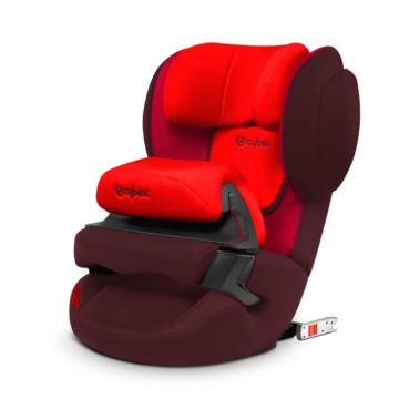 CYBEX Silver Kindersitz Juno 2-fix Rumba Red Gruppe 1