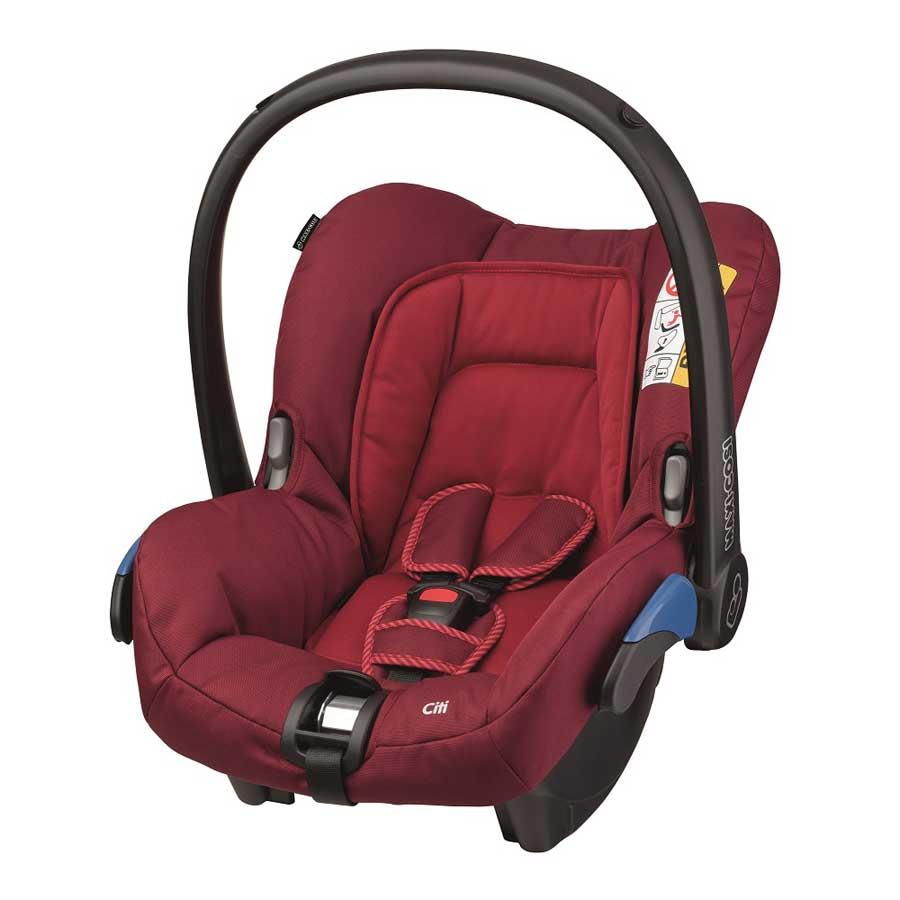 maxi cosi babyschale citi 2016 robin red gruppe 0 auto. Black Bedroom Furniture Sets. Home Design Ideas