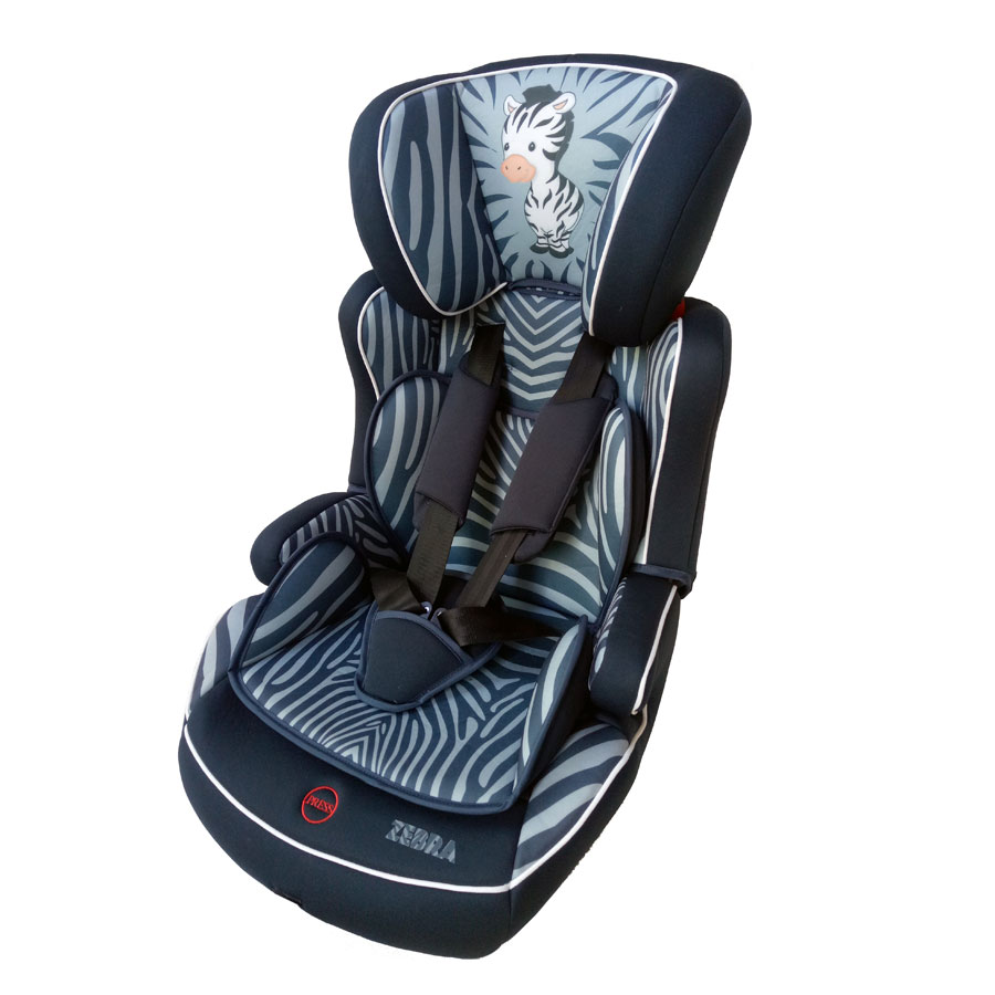 osann kindersitz lupo isofix nero zebra gruppe 1 2 3 auto. Black Bedroom Furniture Sets. Home Design Ideas